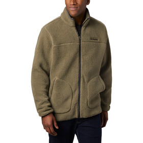 Columbia Rugged Ridge II Sherpa Fleece Jas Heren, stone green/shark
